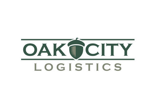 raleigh logistics company logo design
