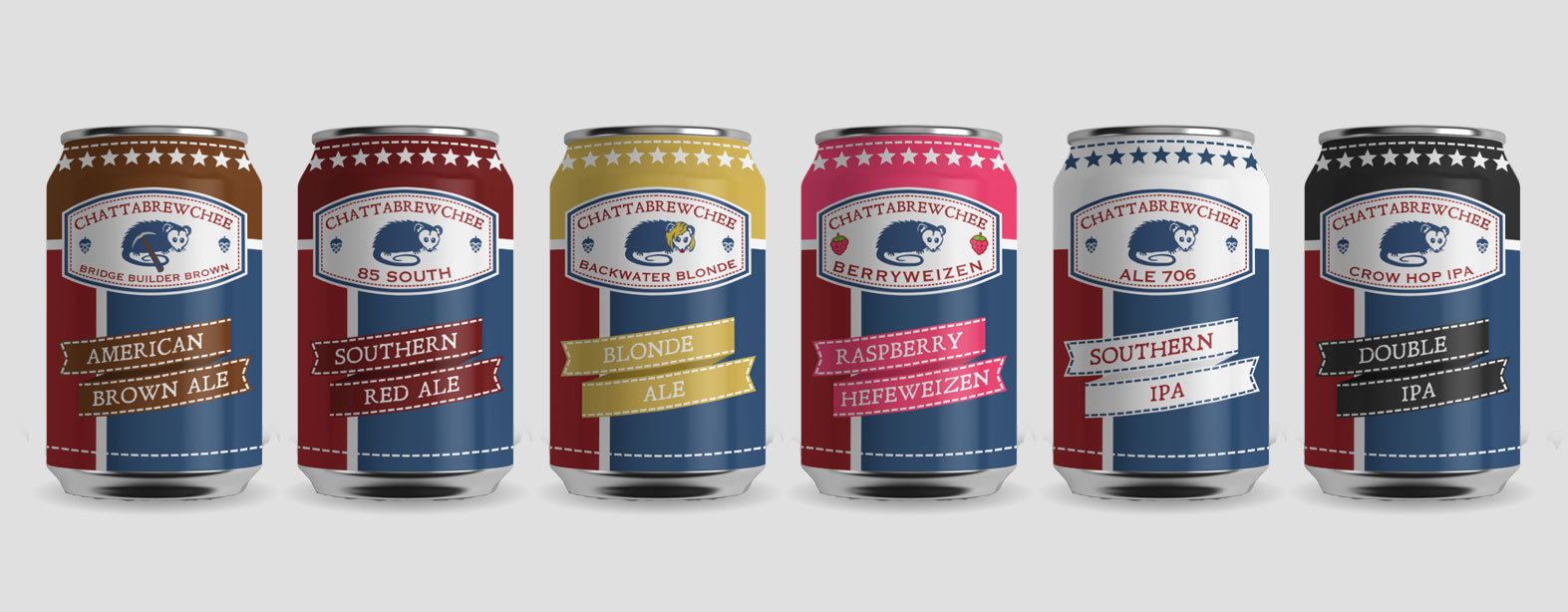 Raleigh Brewery Can Design Mockup