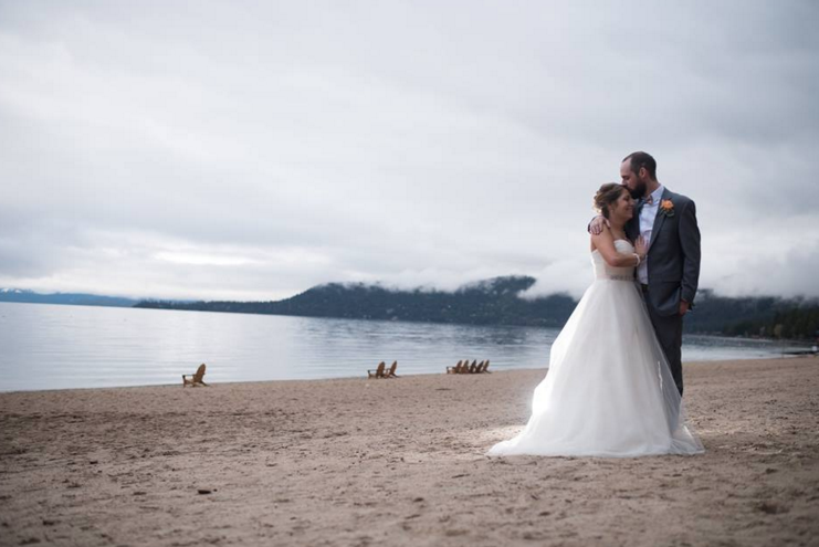 lake tahoe wedding photo