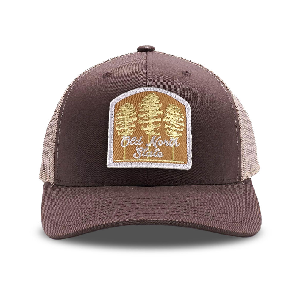 old north state patch hat