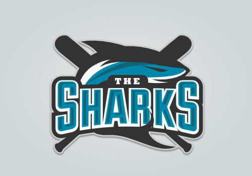 sharks baseball team logo